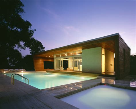 modern pool house green house decorating with pool ultra modern architecture