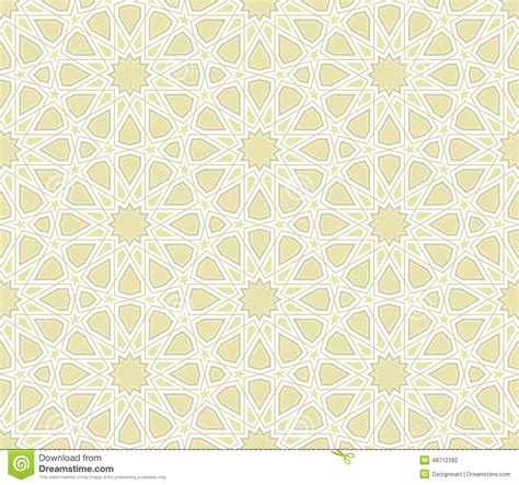islamic star vector pattern islamic star pattern with light background stock vector