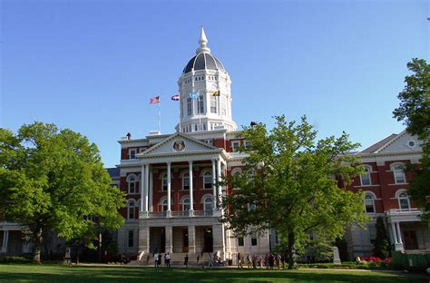 Of Central Missouri Mba Fees by Mizzou Of Missouri Act Scores Admit Rate