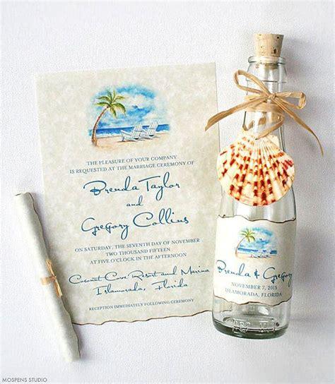 Wedding Invitations In A Bottle by Wedding Invitations Bottle Invitations Wedding
