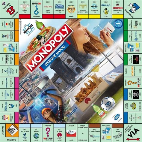 monopoli gioco da tavola ecco il nuovo monopoly con la mappa di napoli 1 di 1