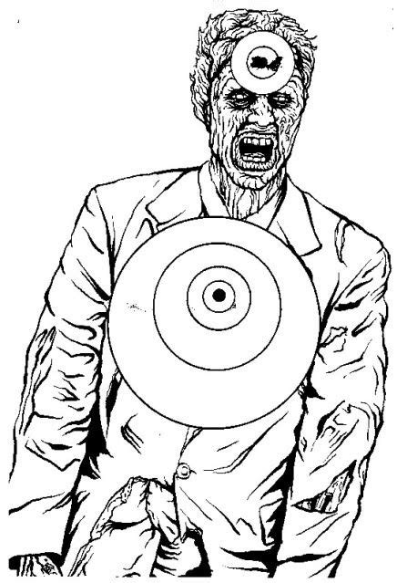 printable zombie gun targets 150 best shooting targets images on pinterest shooting