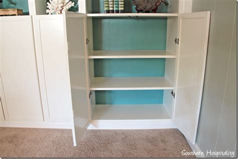 part 2 building in ikea billy bookcases with molding