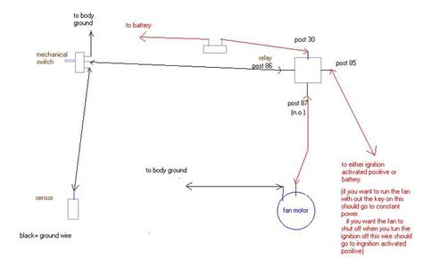 jegs electric fan wiring diagram k