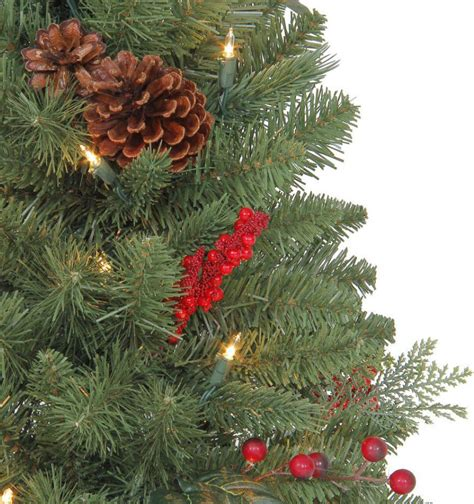 3ft everyday collections potted feel real artificial christmas tree martha stewart living 3 ft winslow fir potted artificial tree with 50 clear lights