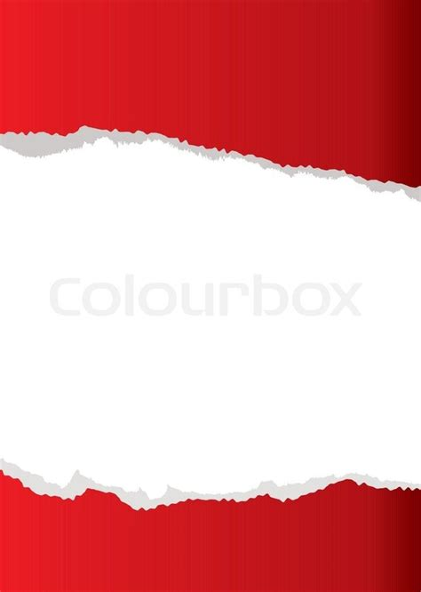 Ripped Putih abstract paper torn background with white copyspace