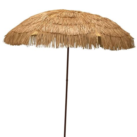 Tiki Patio Umbrella Easygo 6 5 Thatch Patio Umbrella Tropical Palapa Tiki Hawaiian Hula Hut Ebay