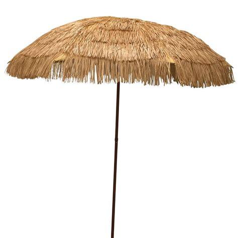EasyGo   6.5' Thatch Patio Umbrella   Tropical Palapa Tiki