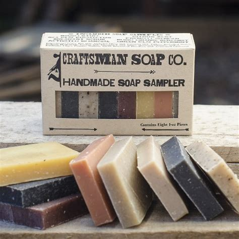 Handmade Soap Los Angeles - craftsman soap co soap sler 8 pieces all soap