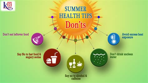 Some Tips For Summer by Some Important Precautions That Should Be Taken During