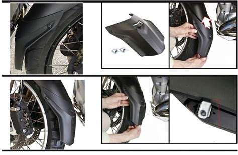 Rsv Front Bracket Cbr 250 Bb65mm front fender extender mudguard cowl cover for r1200gs lc 2013 r1200gsa lc 2014 ebay