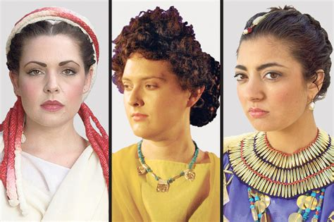 ancient roman hairstyles and makeup on pins and needles stylist turns ancient hairdo debate