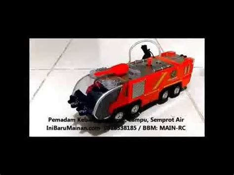 Mobil Mainan Pemadam Kebakaran Vintage jual mainan anak mobil pemadam kebakaran sirene lu semprot air
