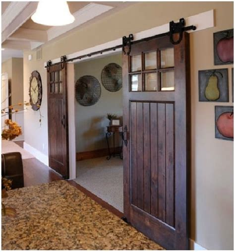 Sliding Barn Doors With Windows Sliding Barn Doors
