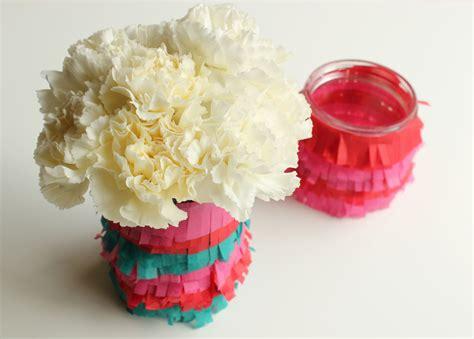 diy fringe vase the sweetest occasion the sweetest