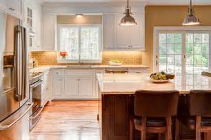 delightful Interior Design Ideas Kitchen Color Schemes #1: Modern-Warm-Kitchen-Interior.jpg
