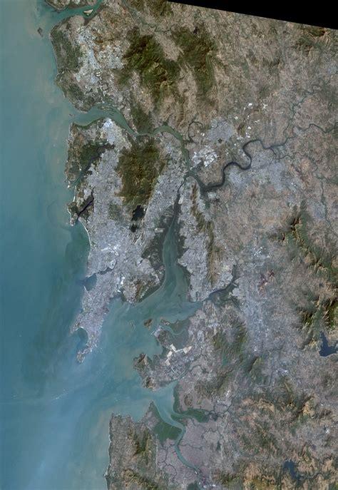 mumbai map satellite file mumbai metropolitan region satellite image landsat