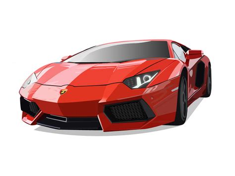 Lamborghini Vector Lamborghini Aventador Vector By Nmrkela On Deviantart