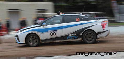 toyota rally car 2016 toyota mirai rally car