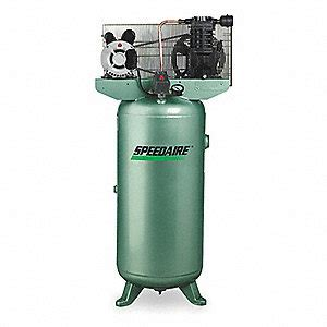 speedaire 1 phase electrical vertical tank mounted 2 00hp air compressor stationary air