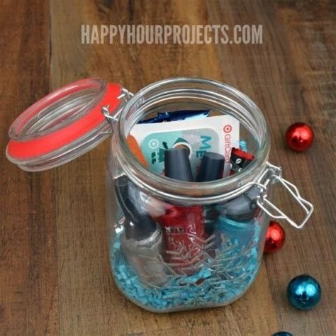 Ideas To Give Gift Cards - creative ways to give a gift card the mason jar gift at www happyhourprojects com