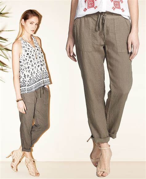 Yay Or Nay High Waist Wide Leg by How To Wear Linen Pant Olo