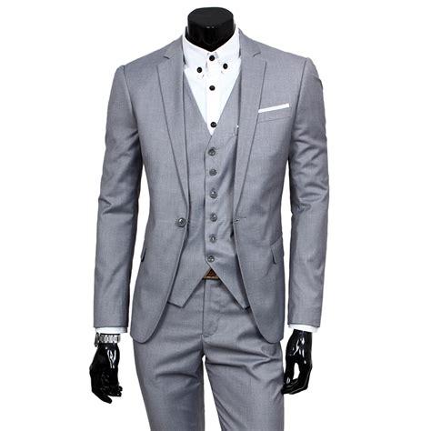 Set Vest Dress mens three classic set vest formal working jacket
