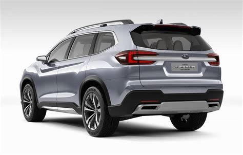 does subaru a 7 seater subaru ascent concept previews 7 seater for america