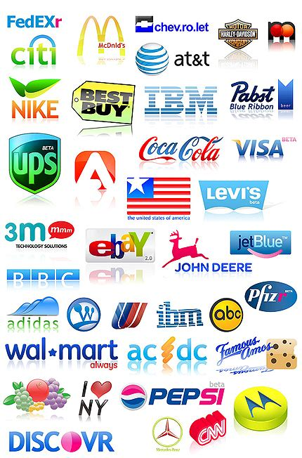 list of all company logos in the world logos