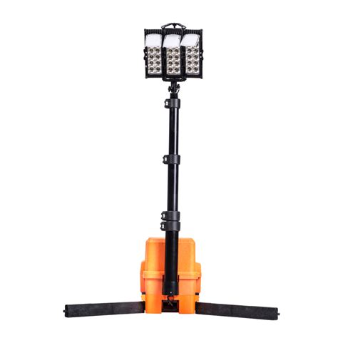 Work Light Fixtures Tripod Work Light Portable Led Lighting System Rechargeable Tripod Work Light Jgl