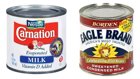 what s the difference evaporated milk vs sweetened condensed milk the kitchn