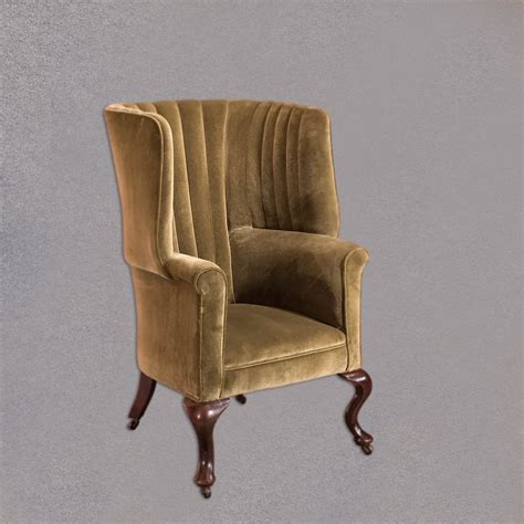 victorian armchair victorian antique armchair scottish fireside wing