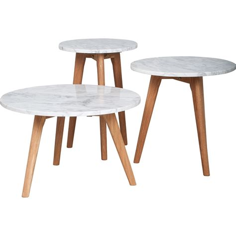 side table with l side table in white stone side coffee tables cuckooland