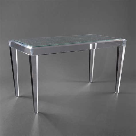 allan knightacrylic desks palm writing desk