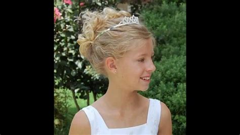little girl hairstyles youtube little girl wedding hairstyles youtube