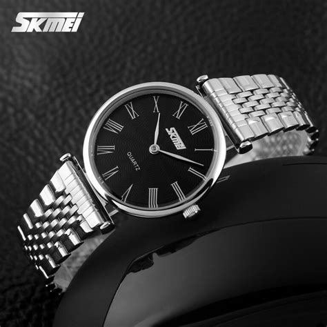 Jam Tangan Cewek Elegan Skmei 9105 skmei jam tangan analog wanita 9105cs black jakartanotebook