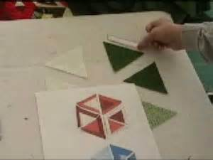 hollow cube quilt block youtube