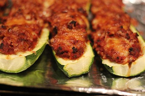 stuffed zucchini boats ground beef and rice zucchini boats with ground beef and rice