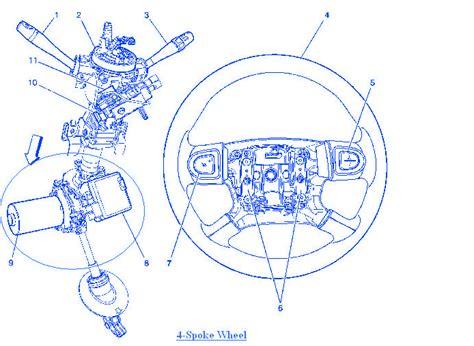 chevy cobalt 2 2 4 2006 spoke wheel electrical circuit