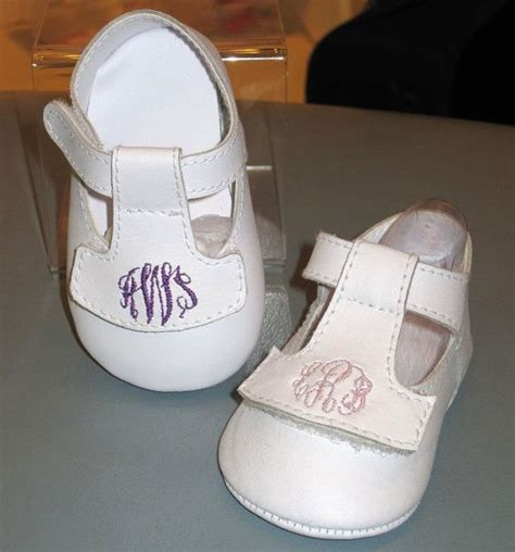 Baby Deer Crib Shoes Personalized Monogrammed Infant Baby And By Childrenscottage 26 00 Infant