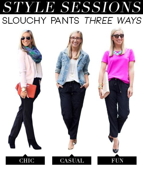 Stylish Slouchy Trousers by 17 Best Images About Slouchy On