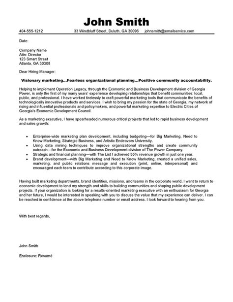 Cover Letter Manager – Example Resume: Example Cover Letters Manager