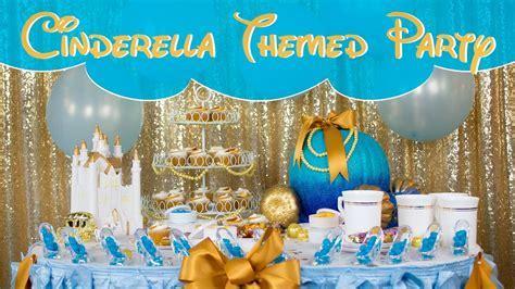 Cinderella Themed Party Table Decor Ideas   BalsaCircle