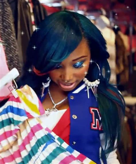 Omg Girlz Hairstyles by Zonnique Pullins Blue Sideswept Bangs Hairstyle