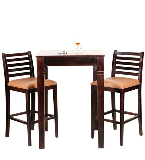 Dining Table Set For 2 Belo Two Seater Dining Table Set In Mahogany Finish By Woodsworth By Woodsworth