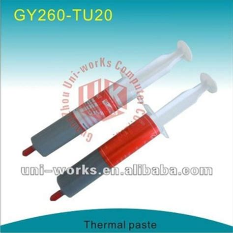 Thermal Paste Thermal Grease Ht Gy260 Model Suntik cpu silicon thermal grease thermal paste buy thermal paste thermal thermal paste cpu silicon