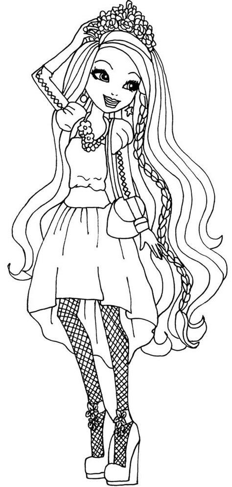 ever after monster high coloring pages top 10 ever after high coloring pages