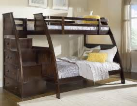 Bunk Bed Stairs With Drawers Canwood Canwood Overland Bunk Bed With Built In Stairs Drawers By Oj Commerce 968 99
