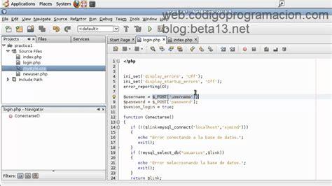ver imagenes guardadas en mysql php y mysql validar un login sencillo con usuario y