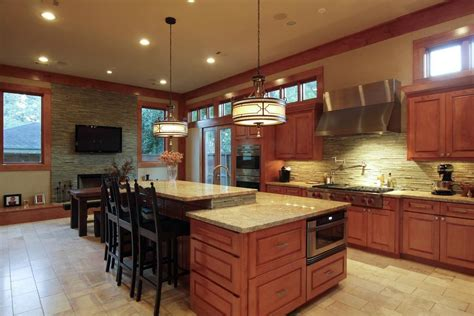 craftsman kitchen lighting craftsman style home decorating ideas zillow digs